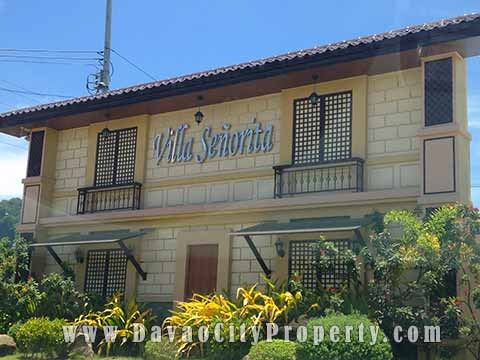 Townhouse and Studio of Villa Senorita Maa Davao City