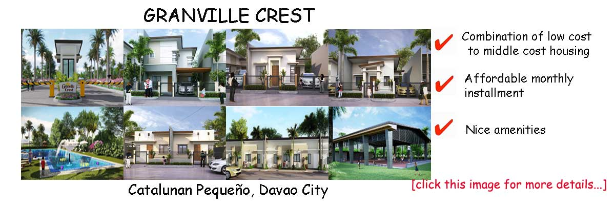 granville-crest-davao-low-cost-to-middle-cost-housing-in-davao-GethomeRealty