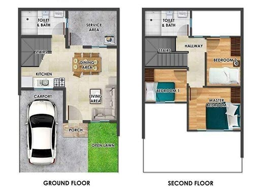 Townhouse-Reitz-floorplan-for-sale-near-davao-airport-diamond-heights