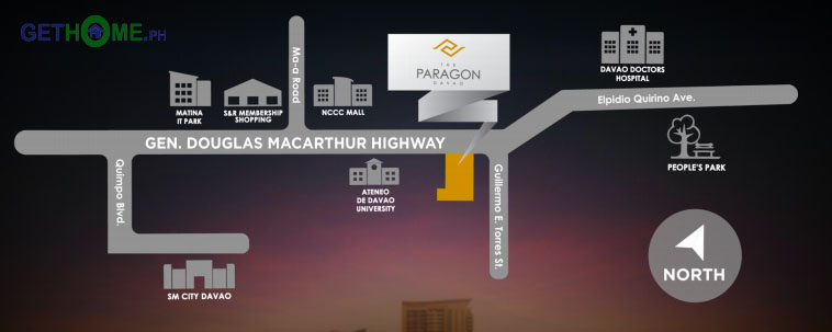 The Paragon Davao Matina Condo One Paragon Cetadines