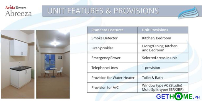 unit-features-provisions-avida-towers-ayala-abreeza-condominium-jp-laurel-davao