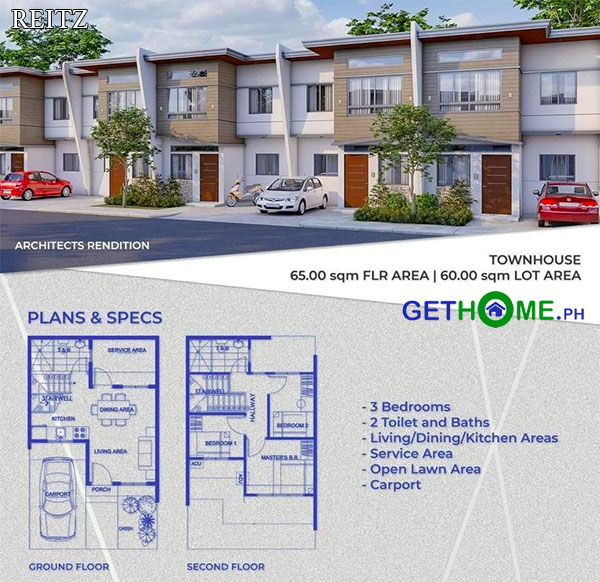 REITZ-townhouse-house-for-sale-near-davao-airport-diamond-heights