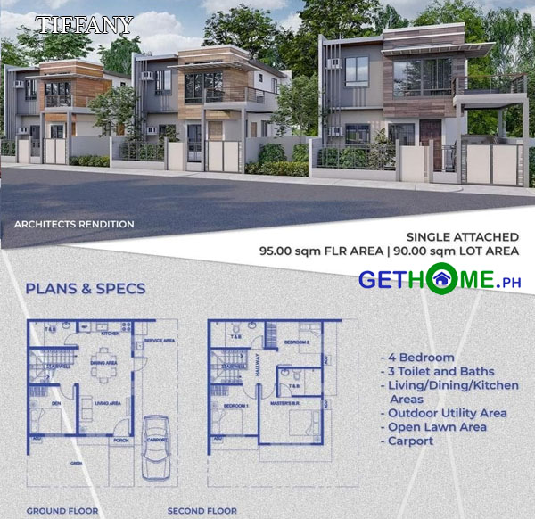 TIFFANY-townhouse-house-for-sale-near-davao-airport-diamond-heights